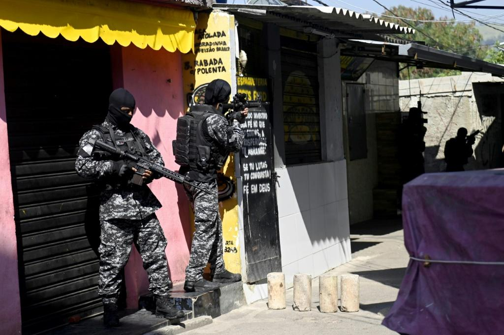 Rio de Janeiro police led an operation against drug traffickers that left at least 24 suspects and one officer dead