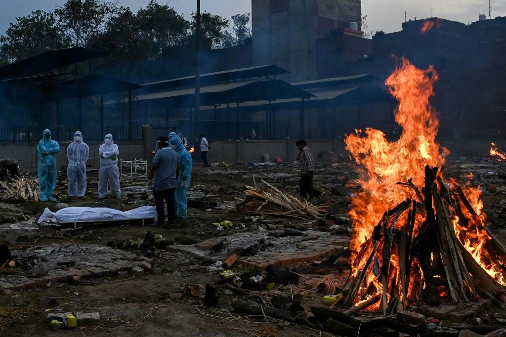 India's devastating wave of infections has left tens of thousands dead in the past week