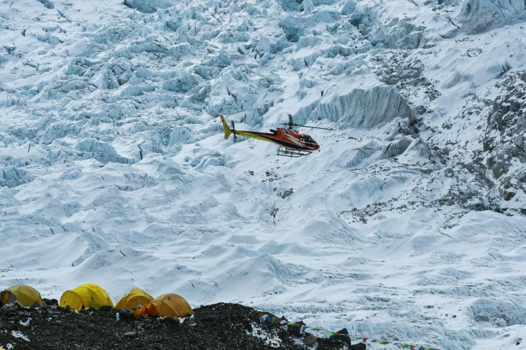 More than 30 sick climbers have been evacuated from the foot of Mount Everest