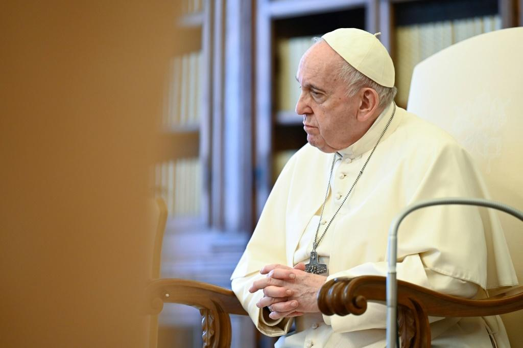Pope Francis on Saturday called for vaccine patents to be waived