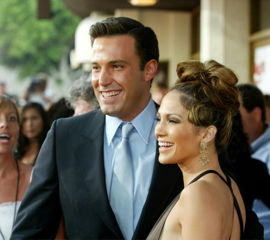 Jennifer Lopez and Ben Affleck (pictured 2003) have sparked reunion rumors after being spotted together in the US state of Montana