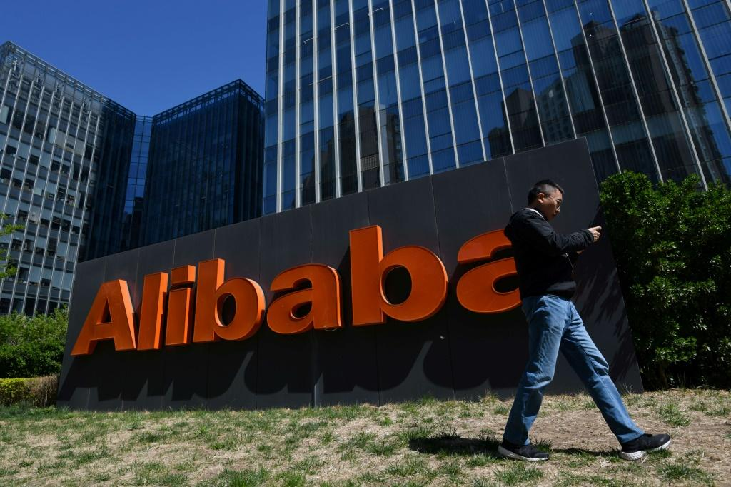 Alibaba said it would have posted a hefty profit if not for the fine