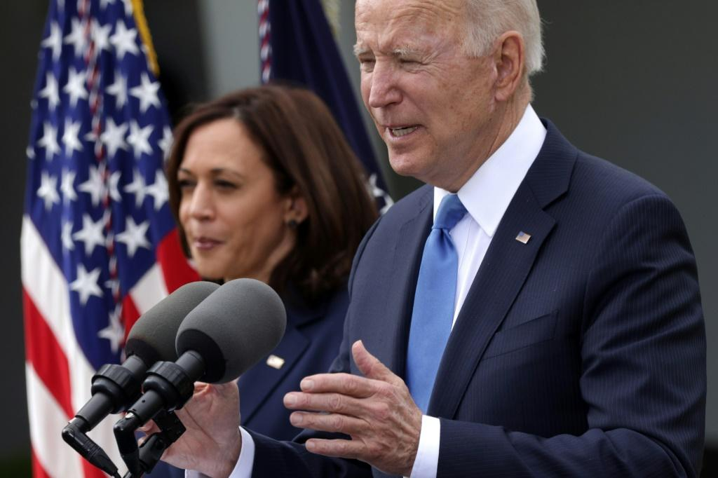 """I think it's a great milestone, a great day,"""" said US President Joe Biden of America's decision to lift indoor masking guidelines"""