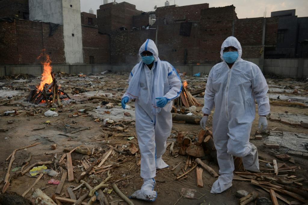 India has been hit by a devastating new coronavirus wave in recent weeks which has many rushing to get vaccinated