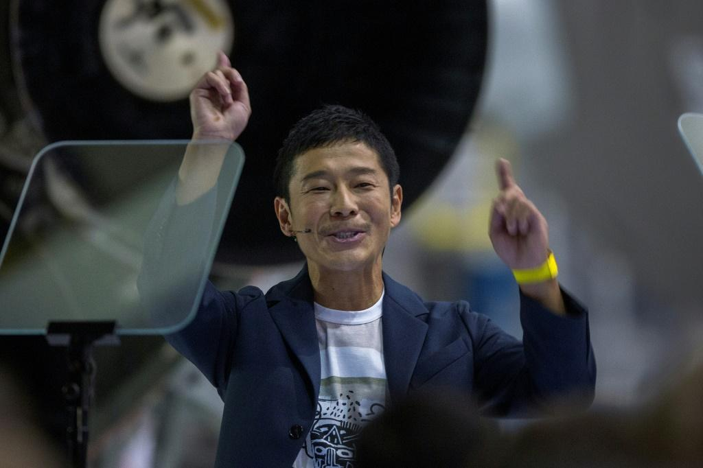 Japanese billionaire Yusaku Maezawa is a former wannabe rock star worth $1.9 billion with a penchant for pricey modern art as well as space travel