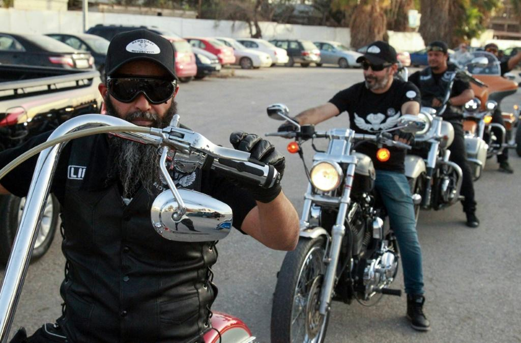 The bikers of Benghazi say their image has changed, with families and children wanting to have their pictures taken with them
