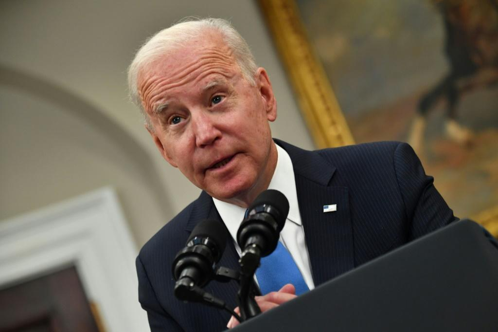 US President Joe Biden told motorists that 'help is on the way' as the Colonial Pipeline network restarts and fuel supplies are flowing again