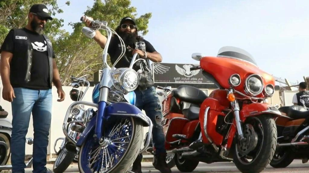 Bikers of Libya's Mediterranean city of Benghazi, the cradle of its 2011 revolution and a one-time Islamist bastion, rev up their motors to show another side to their war-scarred country