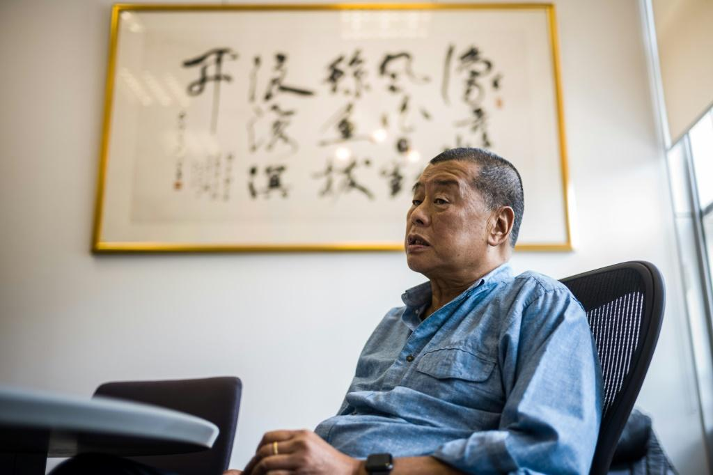 Pro-democracy tycoon Jimmy Lai was convicted and jailed last month for taking part in 2019 protests