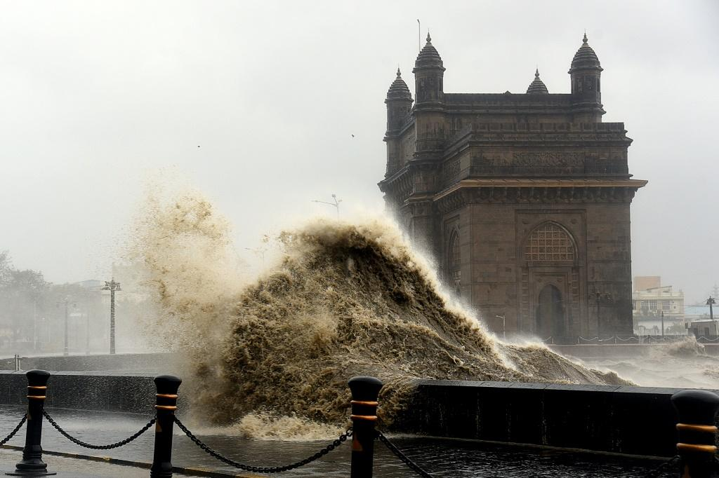 A powerful cyclonic system, Tauktae, is expected to make landfall in the Indian state of Gujarat late Monday