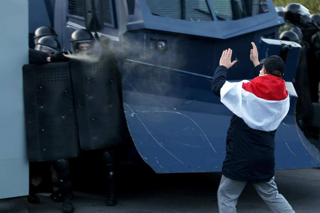 Belarusian law enforcement unleashed repressions that saw thousands of demonstrators detained