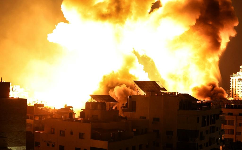 Over 200 people have been killed in the Gaza Strip since the Israeli air campaign began on May 10