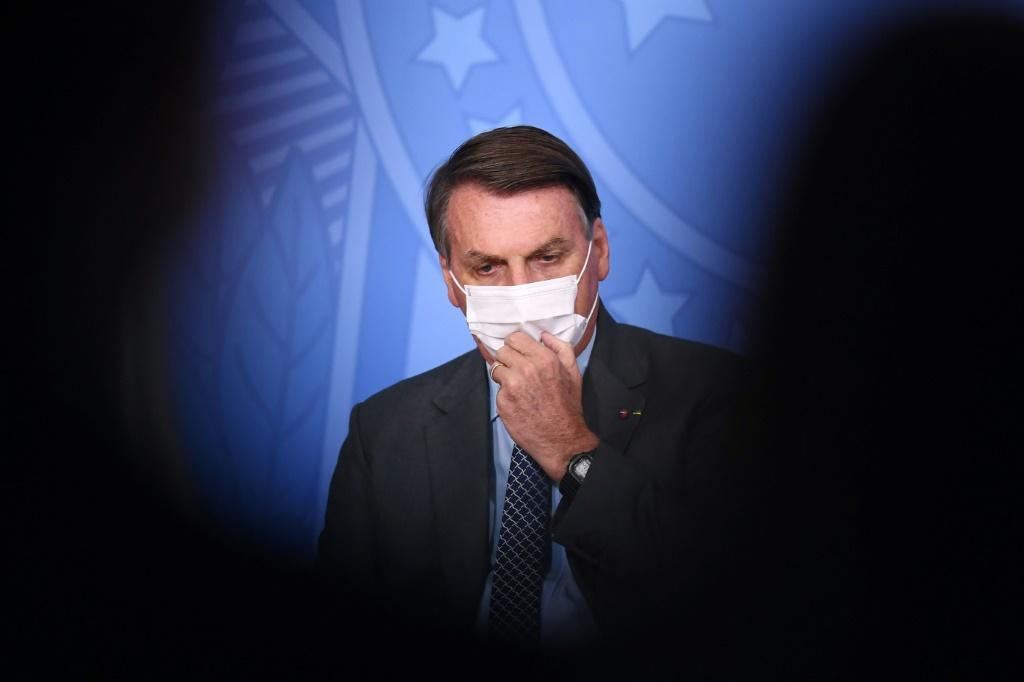 Brazilian President Jair Bolsonaro's approval rating is at a record low as he prepares to run for re-election in 2022