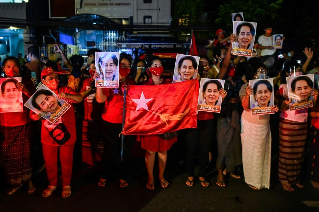 Myanmar's junta has threatened to dissolve the political party of ousted civilian leader Aung San Suu Kyi over alleged voter fraud