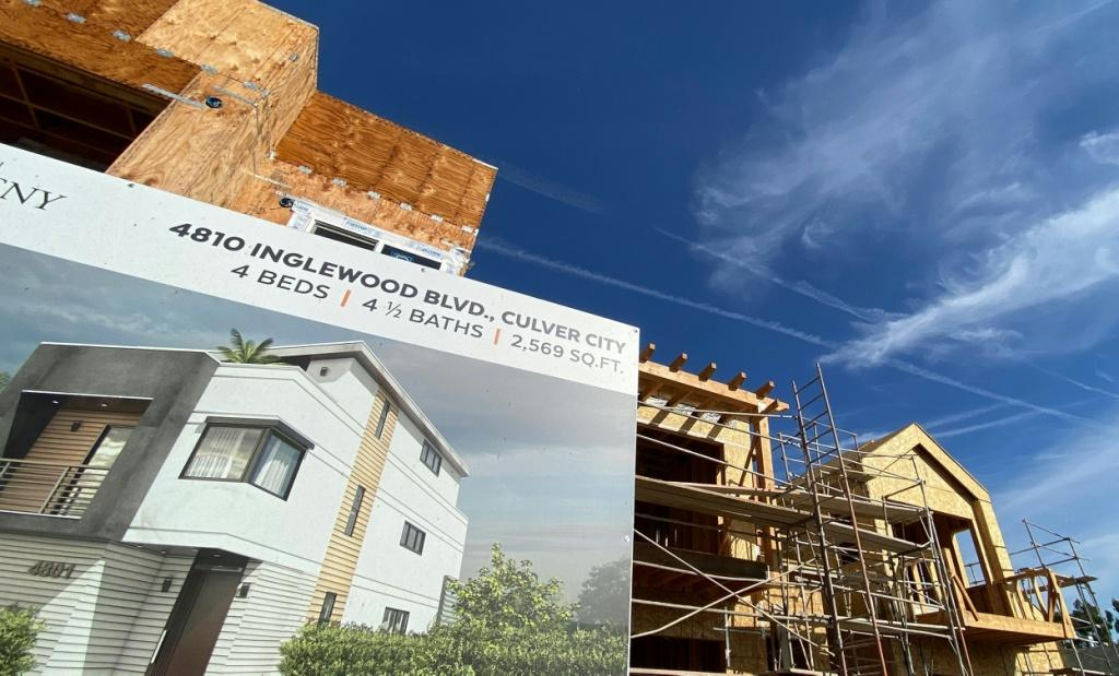 Builders are rushing to keep up with demand for new homes in the United States, and the supply of real estate rose in April 2021
