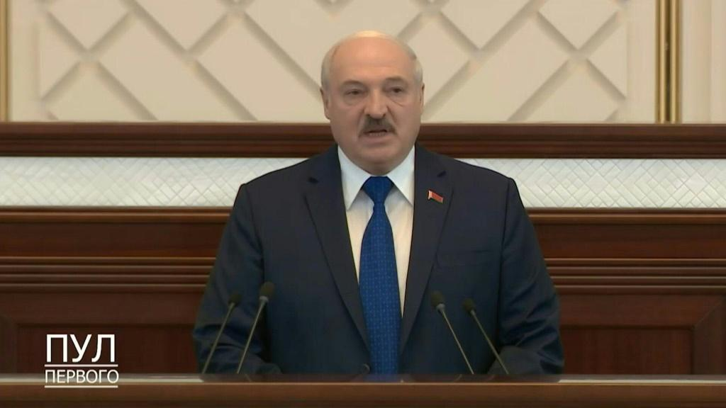 Lukashenko says 'attacks' on Belarus have crossed 'red lines'