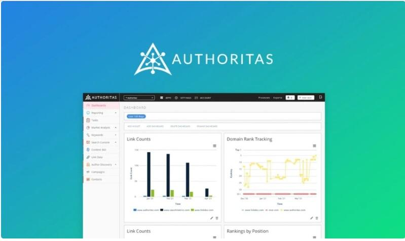 Authoritas lets you manage multiple SEO projects at once