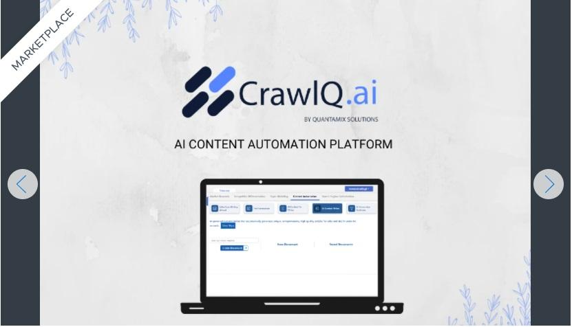 CrawIQ.ai fast-tracks your content through automation