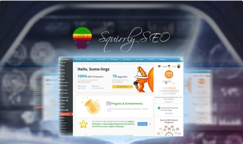 Squirrly all-in-one SEO tool
