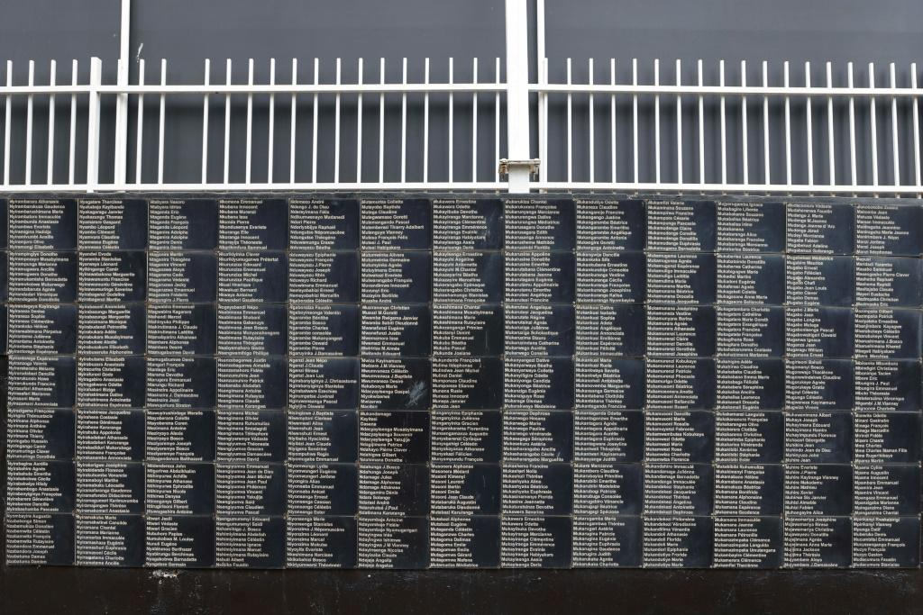 The key moment of the visit will be a speech by Macron early Thursday at the Kigali Genocide Memorial, where some 250,000 victims are buried