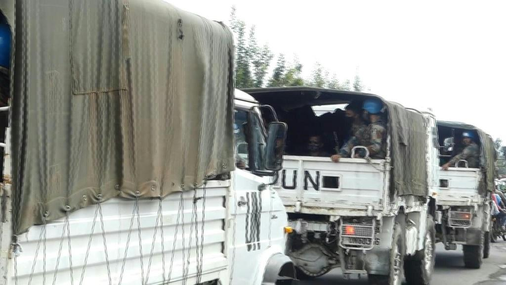 UN personnel, peacekeepers leave Goma as new eruption of DR Congo volcano feared