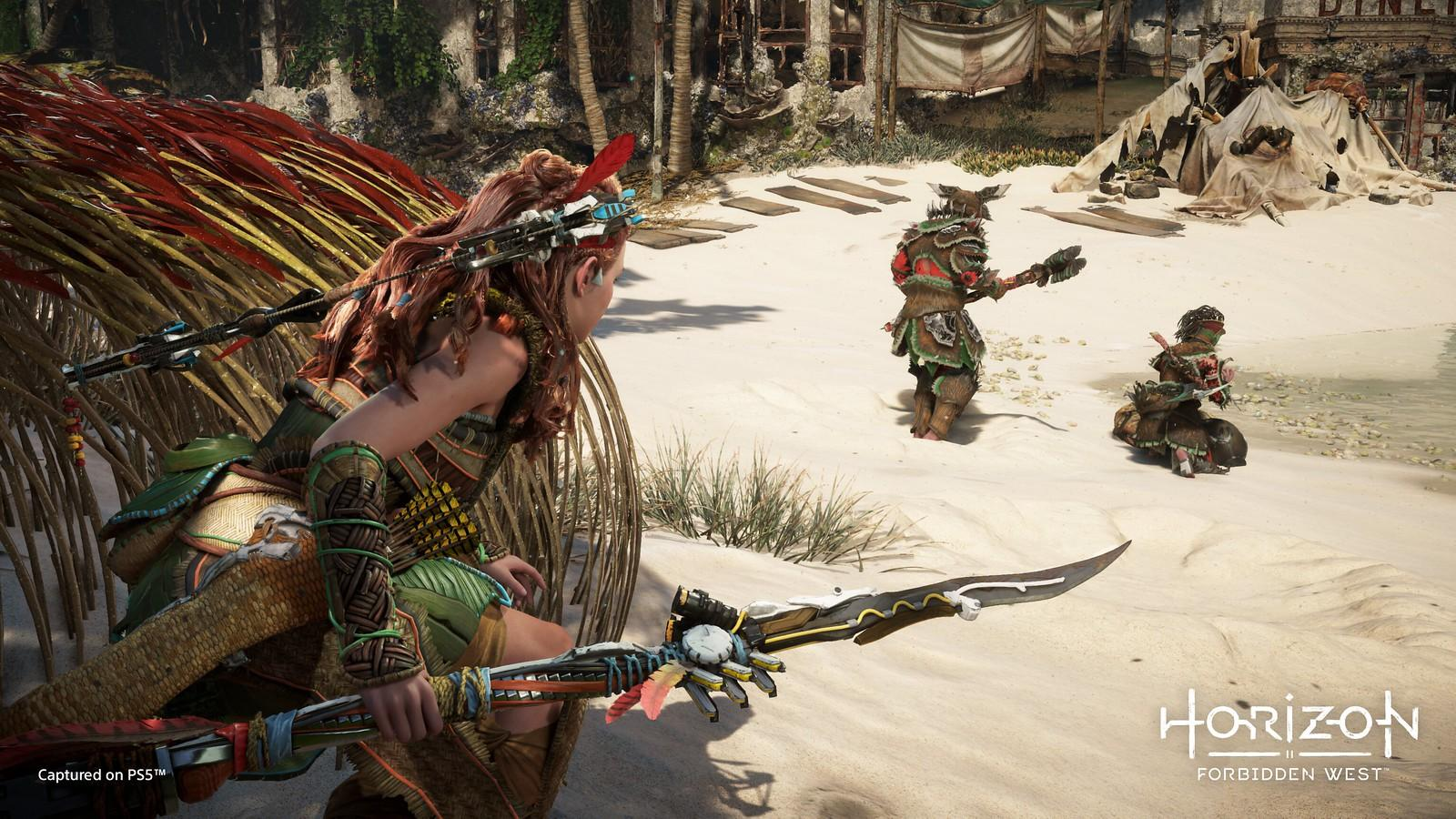 New footage of Horizon Forbidden West was revealed at Sony's State Of Play