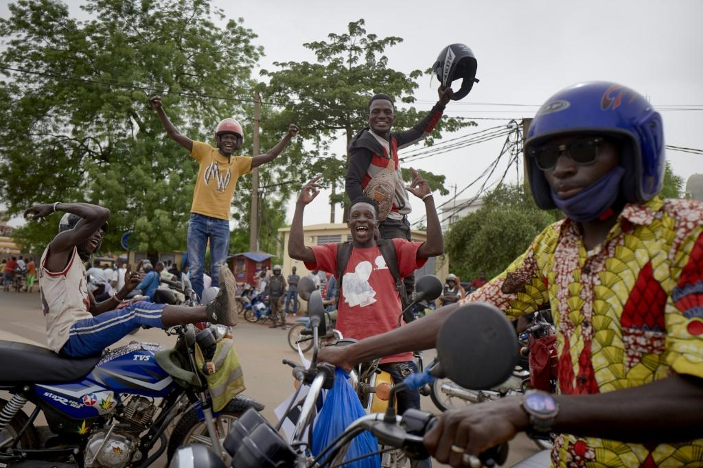 The second coup sparked street celebrations on Friday
