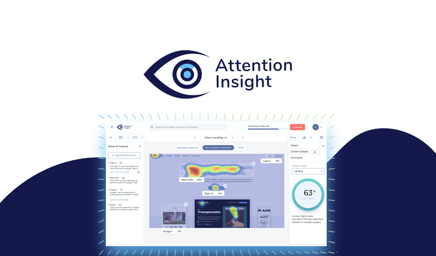 Appsumo's special offer for Attention Insight