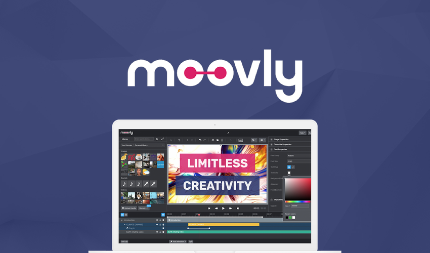 Appsumo's special offer for Moovly