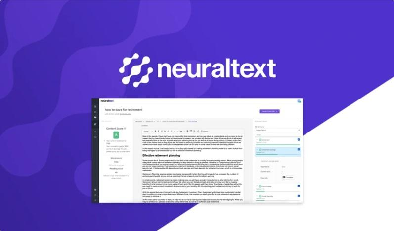 Appsumo's special offer for NeuralText