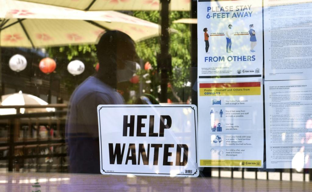 Though data show US firms rehiring workers, there are also reports many are struggling to find people to take open jobs