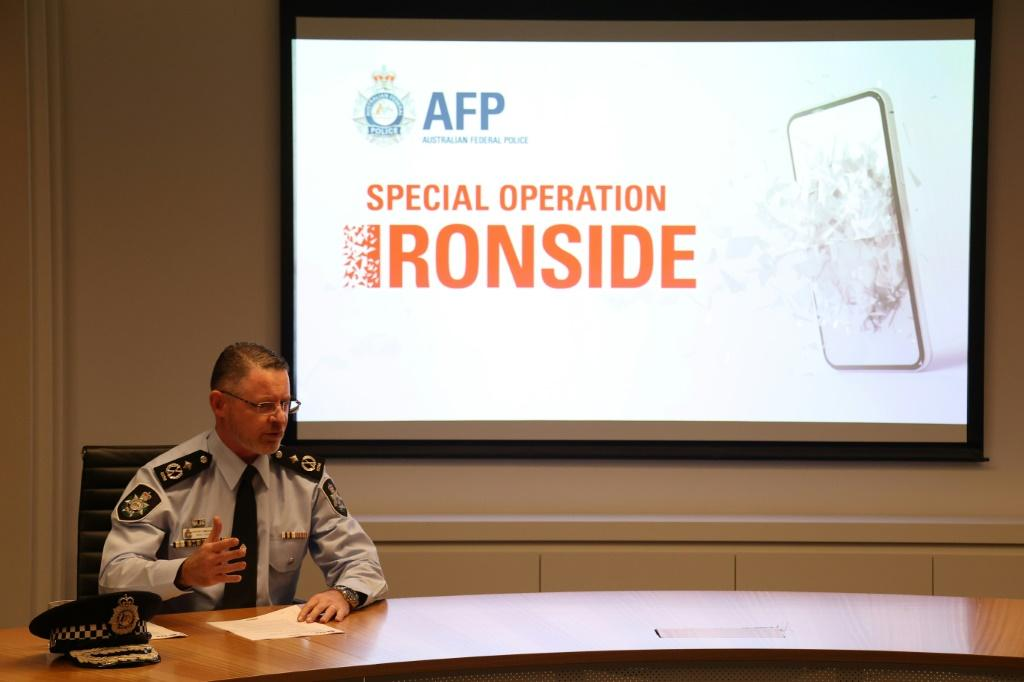 Australian authorities were part of a massive international operation that has led to hundreds of arrests worldwide