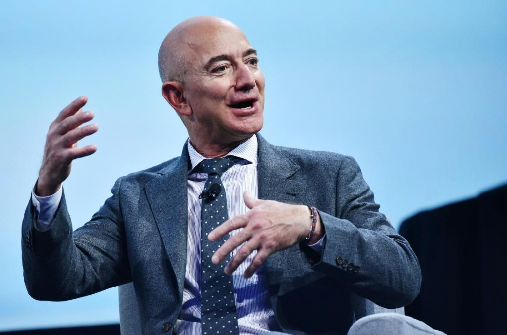 """Ever since I was five years old, I've dreamed of traveling to space,"""" Amazon founder Jeff Bezos said."""