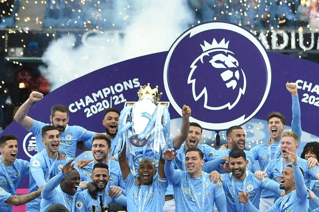 Manchester City were one of six English clubs to sign up to the ill-fated European Super League