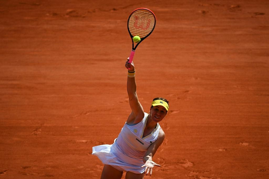 Anastasia Pavlyuchenkova is through to a first Grand Slam final at her 52nd major