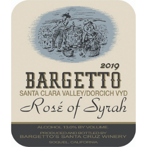 Bargetto Winery Rose of Syrah