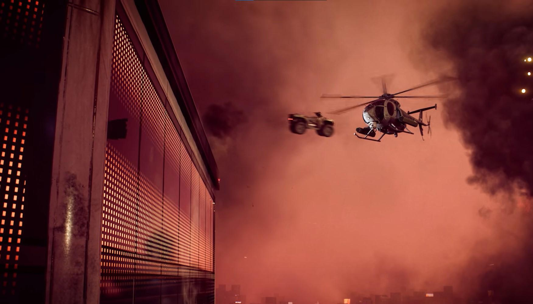 Battlefield 2042's trailer is filled with the game's best and most memorable moments