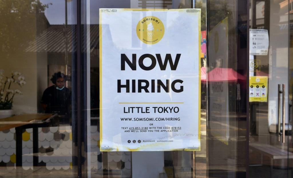 More Americans are finding employment after mass layoffs hit the labor force as the Covid-19 pandemic began
