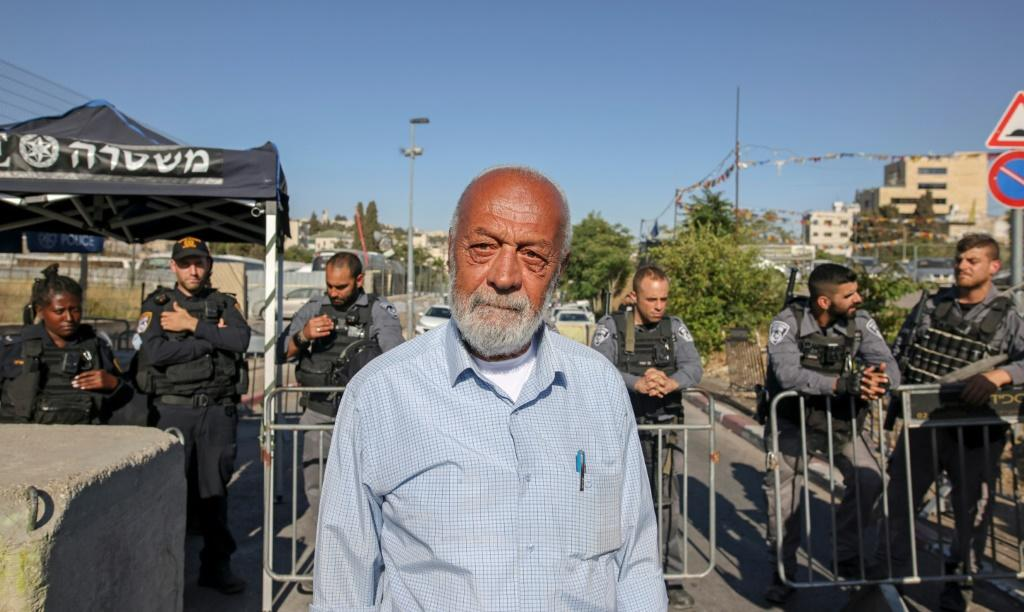 Palestinian Mohammad al-Sabbagh is among the families facing eviction orders in the east Jerusalem neighbourhood of Sheikh Jarrah