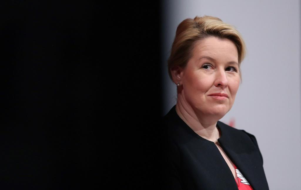 Social Democrat Franziska Giffey, who stepped down last month as federal family affairs minister due to the controversy, has denied any intent to commit fraud