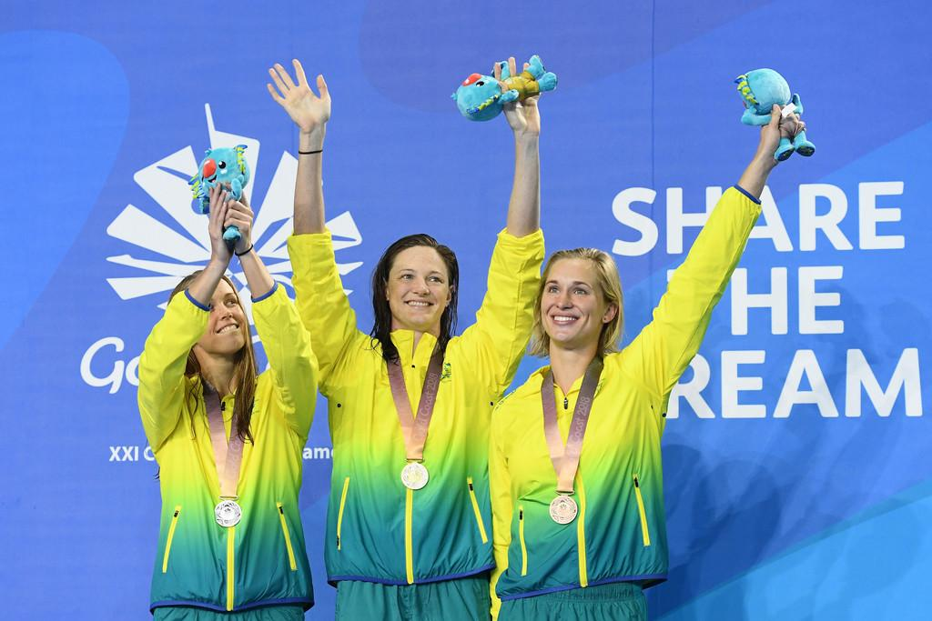Swimming Commonwealth Games Day 4