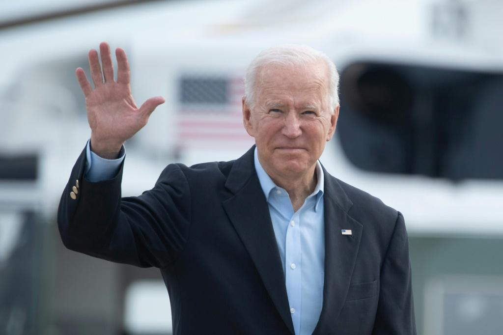 The international image of the United States has improved since Democrat Joe Biden's election, according to a new Pew report