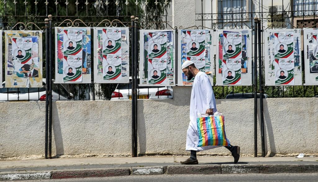Algerians vote in parliamentary elections on Saturday although opposition activists have called for people to boycott the poll