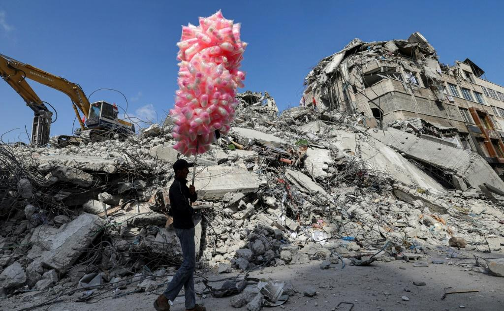 """Psychiatrist Samir Zaqout says that in Gaza """"you can speak about coping, you can talk about resilience."""" But you cannot really cure"""" the effects of trauma"""