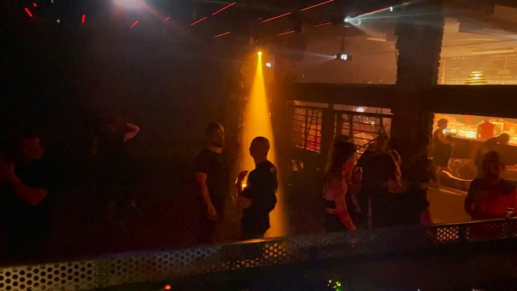 The Distillery, a nightclub in Leipzig, reopens for a few days as a pilot project with 200 people allowed to party without masks and without social distancing, but only after presenting proof of two negative Covid-19 tests.