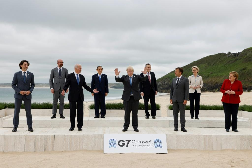 China has slammed G7 leaders after they criticized Beijing's human rights record in Xinjiang and Hong Kong