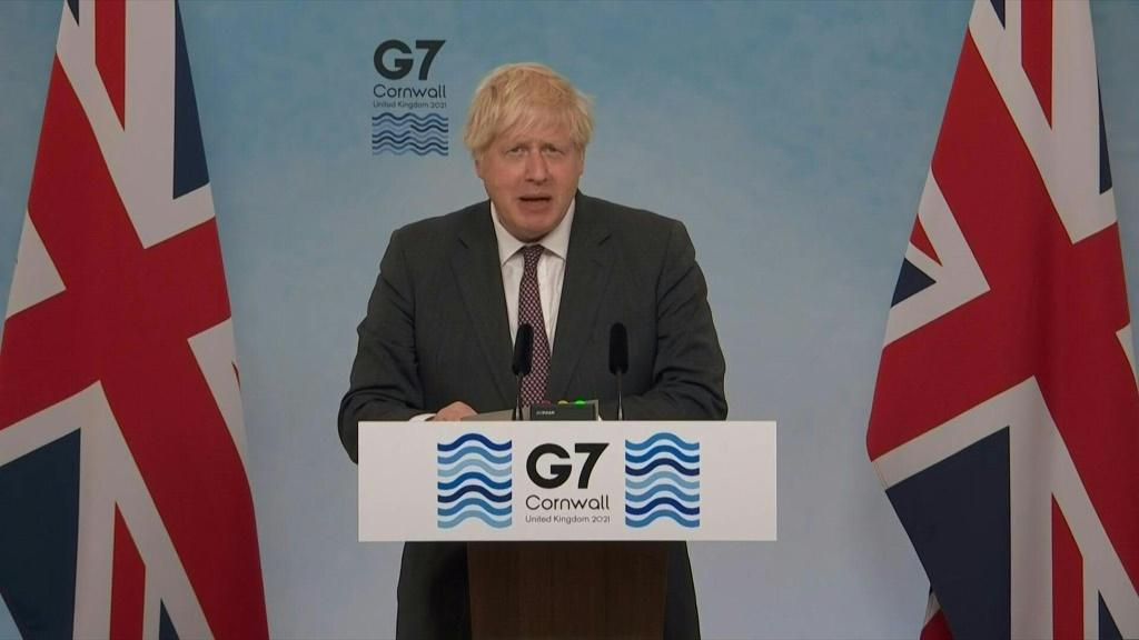 SOUNDBITE The G7 vows to donate one billion coronavirus vaccine doses to poorer countries, British Prime Minister Boris Johnson announced, as the group of leading economies try to redress stark global inequalities in vaccinations.