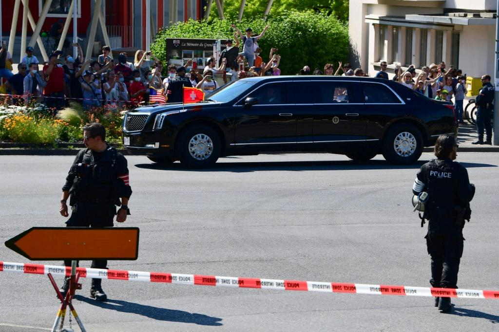 Geneva is laying on a vast security operation for the Biden-Putin summit, with 4,000 personnel deployed