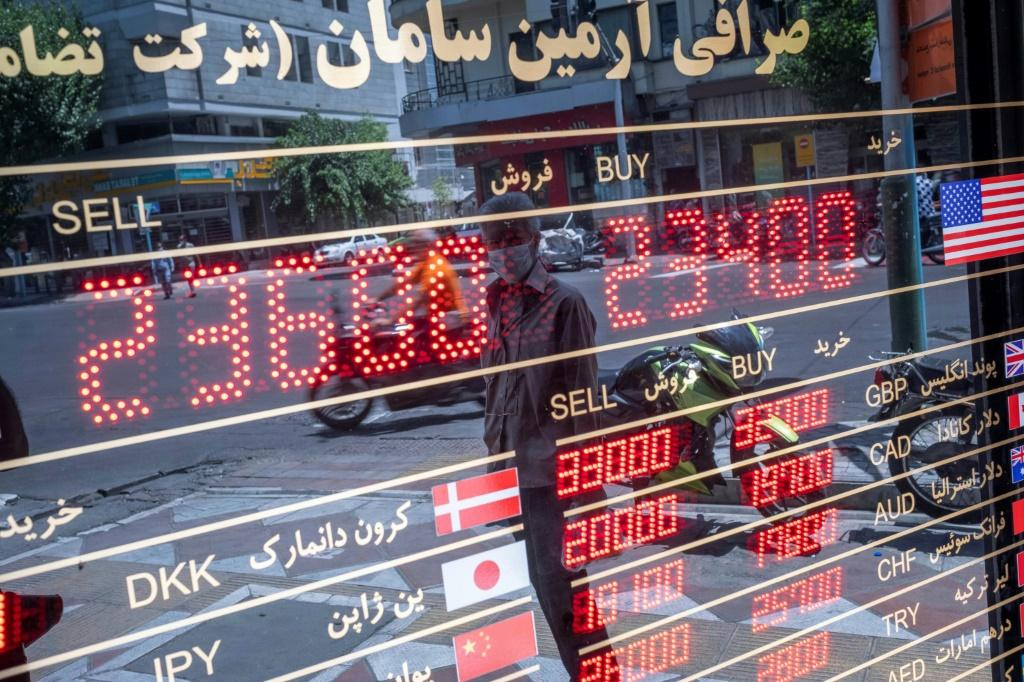Iran's economy has struggled in President Hassan Rouhani's second term, battered by American sanctions