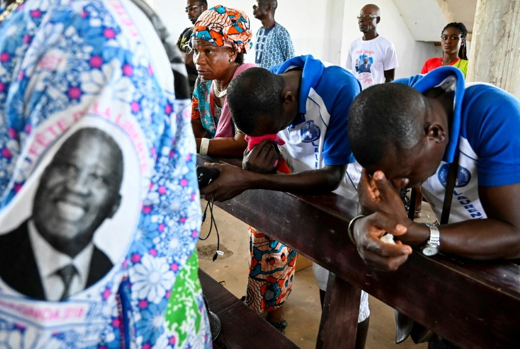 Prayers for reconciliation: Gbagbo's supporters say he does not plan to seek revenge